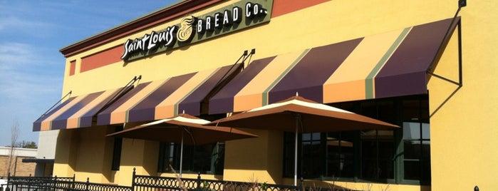 Saint Louis Bread Co. is one of Writing spots.