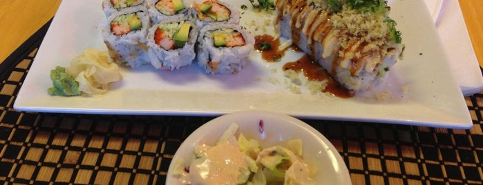 Kim's Sushi 2 is one of Places to go to.