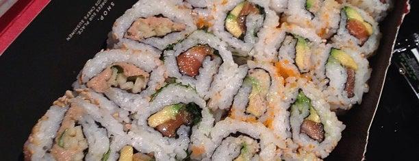 Sushi Shop is one of comida extranjera.