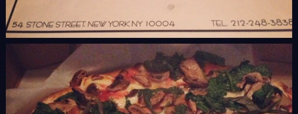 Adrienne's Pizza Bar is one of New York: Pizza.