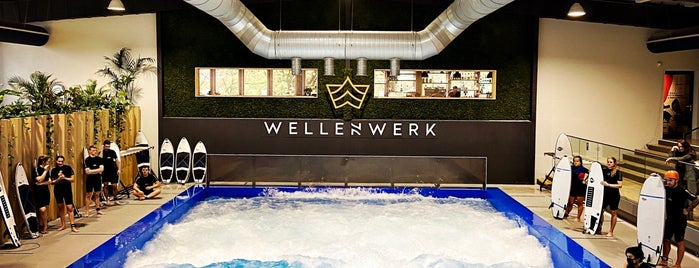 Wellenwerk - Stehende Surfwelle is one of Big List.