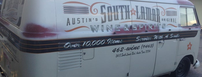 South Lamar Wine & Spirits is one of Chris 님이 좋아한 장소.