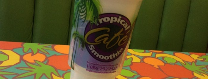 Tropical Smoothie Cafe is one of Jacksonville.