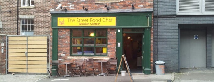 The Street Food Chef is one of Sheffield.