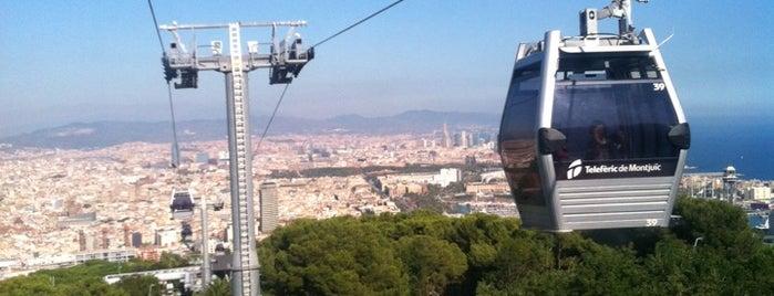 Telefèric de Montjuïc is one of Barcelona See & Do.