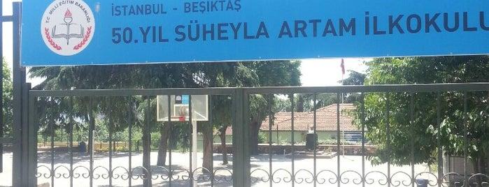 50. Yıl Süheyla Artam İlkokulu is one of Turkey.