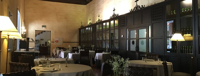 Restaurante El Claustro is one of Spain.