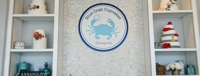 Blue Crab Cupcakes is one of Annapolis Vegan Friendly.