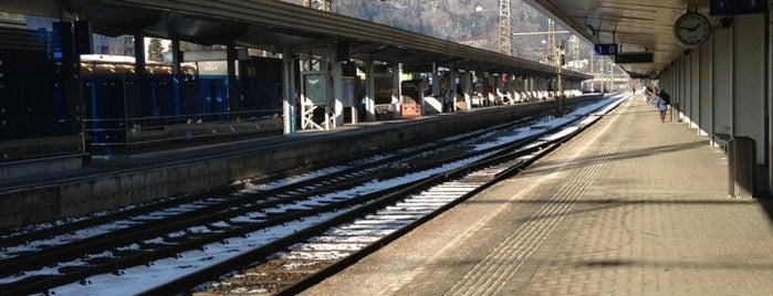 Bahnhof Kufstein is one of Tempat yang Disukai Henry.