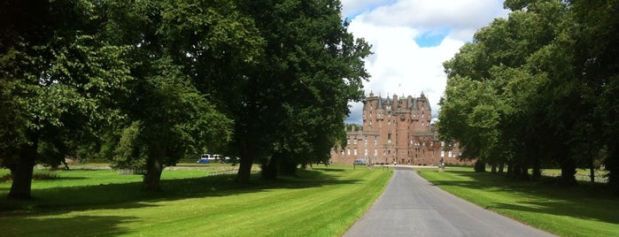 Glamis Castle is one of Scotland.