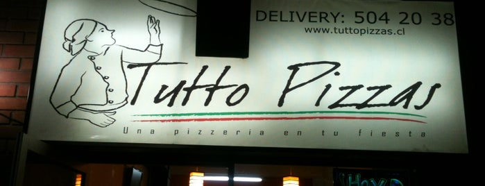 Tutto Pizzas is one of Comida.