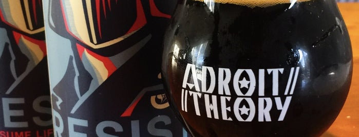 Adroit Theory Brewing Company is one of Loudoun Ale Trail.