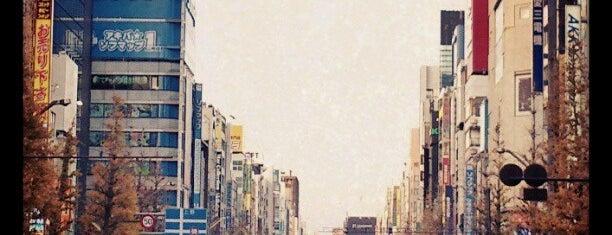 Akihabara Pedestrian Paradise is one of Tokyo-Ueno South.