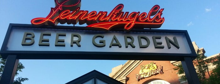 Leinenkugel's Beer Garden is one of Baltimore Sun's 50 Best Bars (2013).