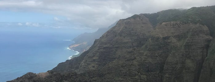 Nu'alolo Trail is one of Hawai'i.
