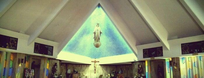 Iglesia de Nuestra Señora De Líbano is one of สถานที่ที่บันทึกไว้ของ Adrian.