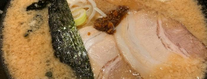Ramen Kagetsu Arashi is one of Tempat yang Disukai まるめん@下級底辺SOCIO.