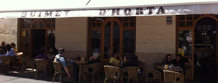 Quimet d'Horta is one of Cheap Eats Barcelona 5-10€.