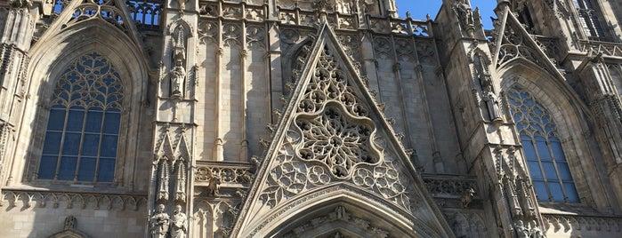 Catedral de la Santa Creu i Santa Eulàlia is one of #myhints4Barcelona.