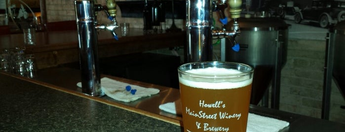 Howell's Main Street Winery is one of Michigan Breweries.
