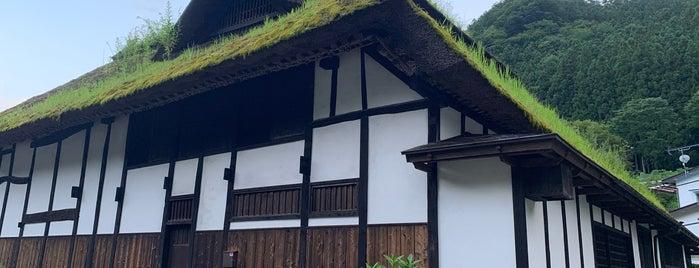 南郷の曲屋(旧鈴木家住宅) is one of Tempat yang Disukai yasyajin_pass.