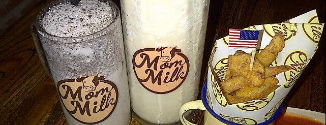 Mom Milk is one of Cafes and Restaurants To Go!.
