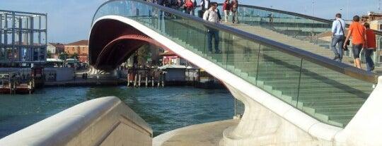 Ponte della Costituzione is one of Venice.