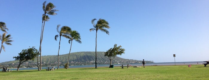 Kuli'ou'ou Beach Park is one of Favorite Local Kine Hawaii.