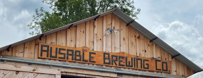 Ausable Brewing Company is one of Breweries To Do.