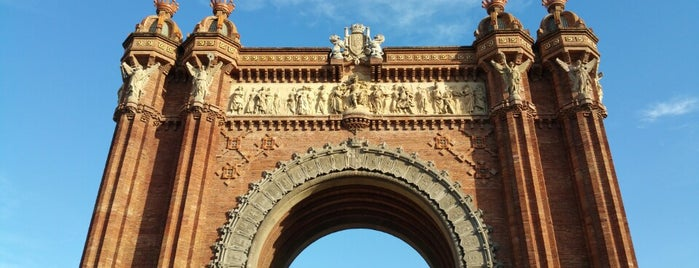 Триумфальная арка is one of BCN.
