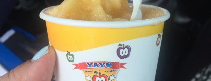Cremoladas Yayo is one of Locais curtidos por Valeria.