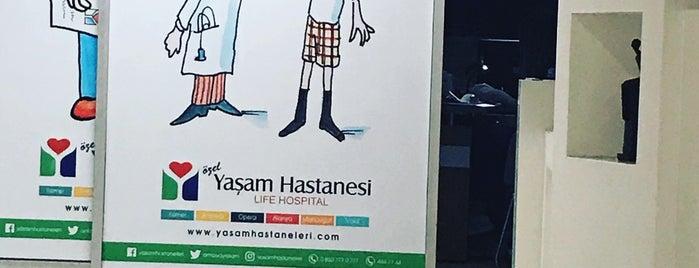 Özel Opera Yaşam Hastanesi is one of Yasemin Arzuさんの保存済みスポット.