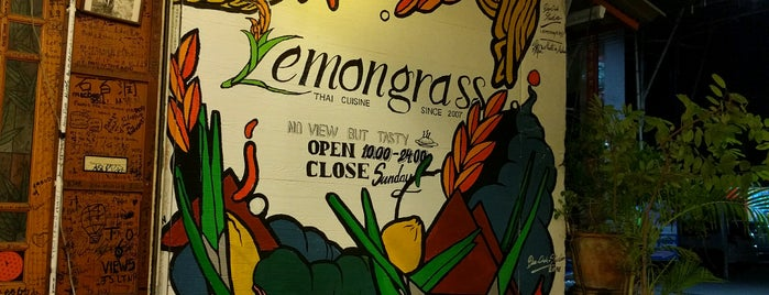 Lemongrass Thai Food is one of Chiang Mai To Do.