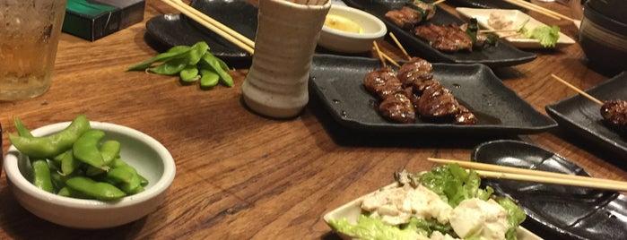 炭火焼鳥専門店 あみや 宝塚店 is one of 焼き肉屋.