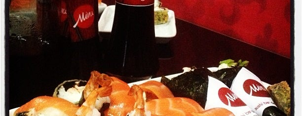Miwa Sushi Bar e Delivery is one of Japonesa.