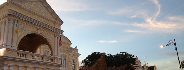 Town Hall is one of Penang.