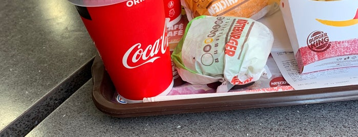 Burger King is one of Locais curtidos por Samet.