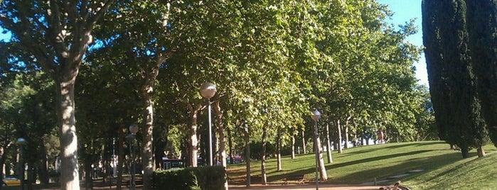 Parc de Carles I is one of Ruta a Sant Martí. La ruta verda.