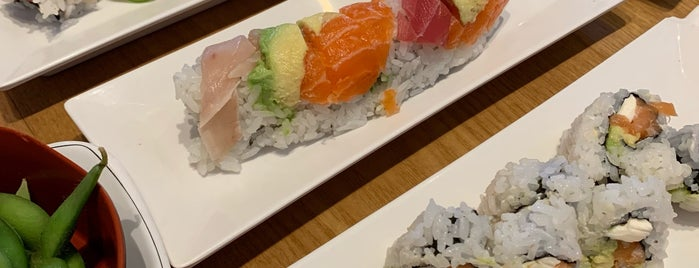 Kuchi Sushi is one of Lugares favoritos de Kevin.