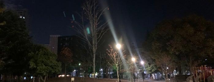 日暮里南公園 is one of Lugares favoritos de Nonono.