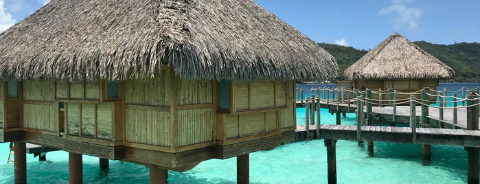 Bora Bora Pearl Beach Resort and Spa is one of Orte, die Yishan gefallen.