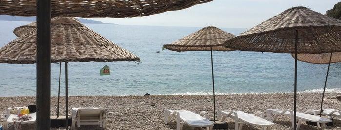 Seyrekcakil Plaji is one of Kas.