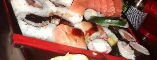 Nakato Sushi is one of Lieux sauvegardés par Carlos.
