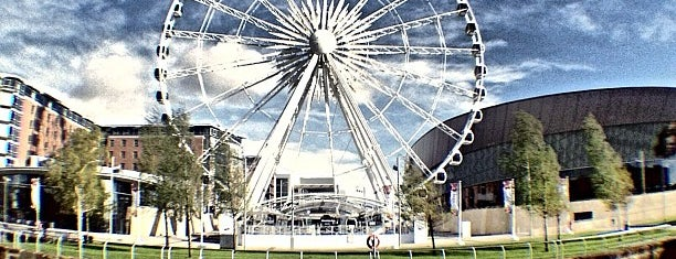 The Wheel of Liverpool is one of Liverpool.