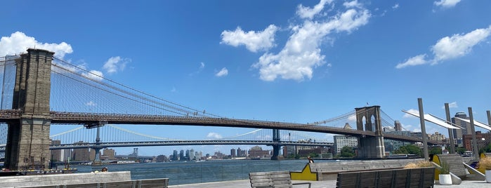 The Heineken River Lounge at Pier 17 is one of NYC.