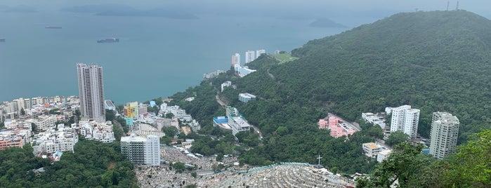 Harlech Road Viewing Point 夏力道觀景台 is one of Meri 님이 좋아한 장소.