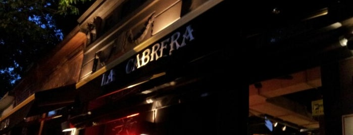 La Cabrera is one of Restaurantes.
