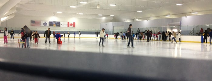 Pasadena Ice Skating Center is one of LA Outings.