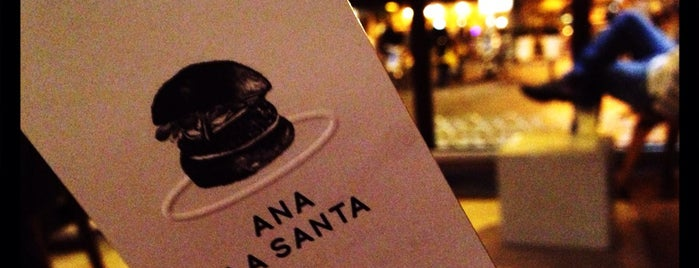 Ana La Santa is one of Tapeo.