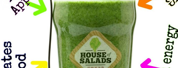 House Of Salads is one of McA Eats.